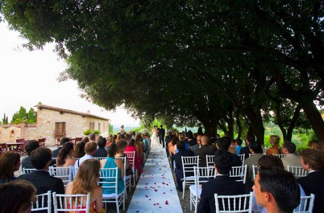 Villa Catignano, Chinati Classico, Tuscany, Italy - Destination Wedding