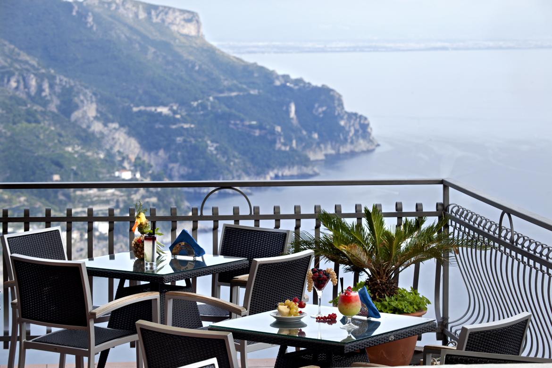 Garden ravello wanderlust weddings for Amalfi coast cuisine