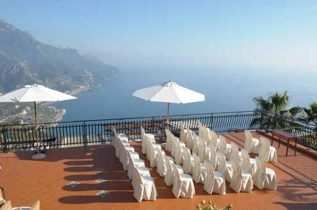 Garden Ravello Restaurant and Hotel, Ravello, Amalfi Coast, Italy - Destination Wedding Venue