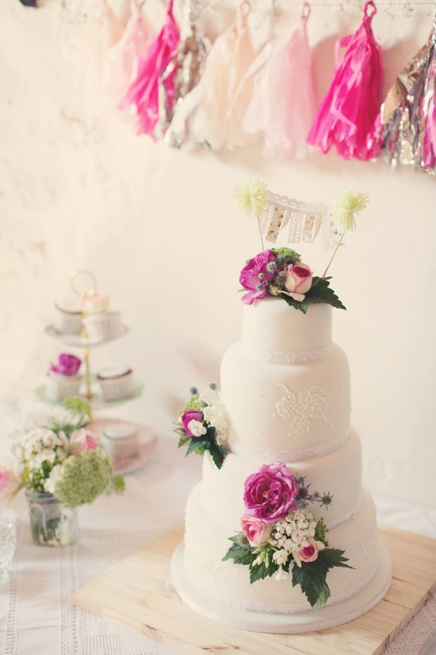 Whimsical Wedding Cake, onefabday.com