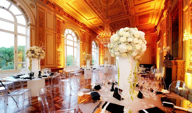 Belle Epoque Reception_Destination Wedding Rome