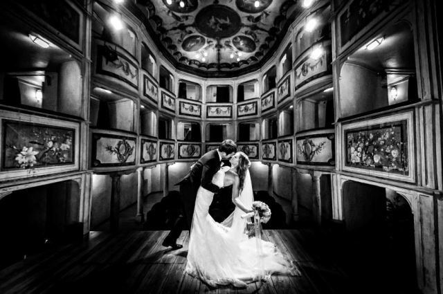 Destination Wedding_Umbria_Teatro della Concordia_Photographer: Christiano Ostinelli